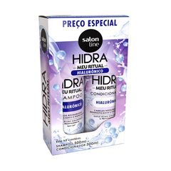 Kit Shampoo + Condicionador Salon Line Hidra 300 ml Hidra Hialurônico