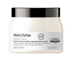 Máscara de Tratamento L oréal Professionnel Serie Expert 500 ml Metal Detox