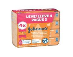Toalha Umedecida Jonhsons & Jonhsons Baby com 44 Leve 4 Pague 3