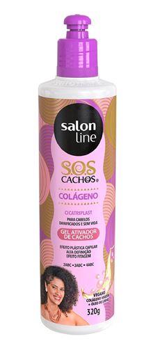 Ativador de Cachos Salon Line 300 ml S.O.S Colágeno