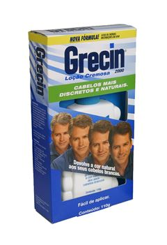 Locão Cremosa Grecin 2000 120 ml Homens