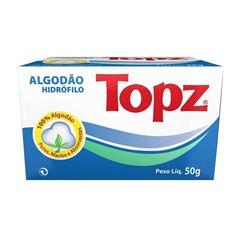 Algodão Topz Hidrofilo 50 gr