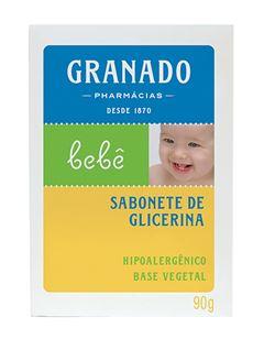Sabonete Barra Granado Bebê 90 gr Tradicional