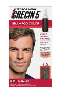Shampoo Color Grecin 5 Castanho