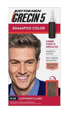 Shampoo Color Grecin 5 Castanho Claro