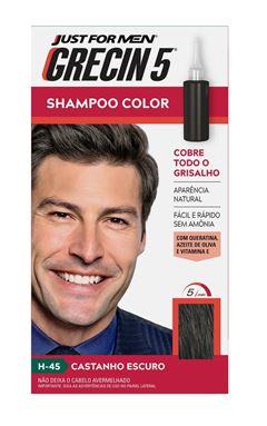 Shampoo Color Grecin 5 Castanho Escuro