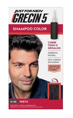 Shampoo Color Grecin 5 Preto