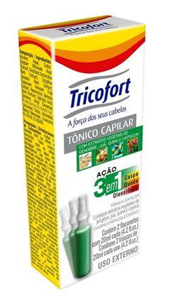 Tonico Capilar Tricofort 3 em 1