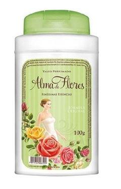 Talco Perfumado Alma de Flores 100 gr Finissimas Essencias