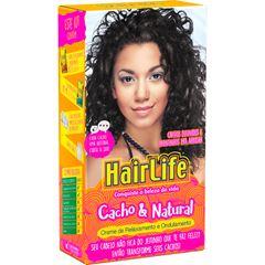 Creme para Alisamento Hair Life Embelleze 180 gr Cacho & Natural