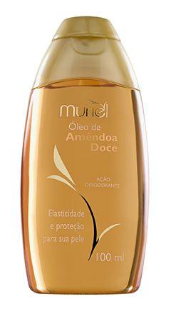 Oleo Corporal Muriel 100 ml Oleo de Amendoa Doce