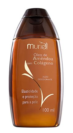 Oleo Corporal Muriel 100 ml Oleo de Amendoa com Colageno