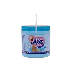 Lencos Umedecidos Baby Poppy Hiper 450 unidades Azul