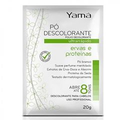 Po Descolorante Yama 20 gr Ervas e Proteinas