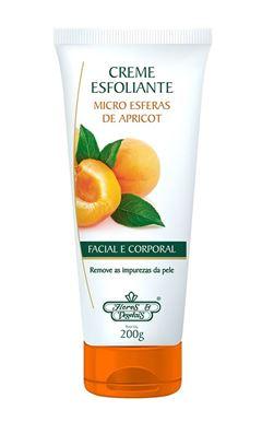 Creme Esfoliante Flores & Vegetais 200 gr Facial e Corporal