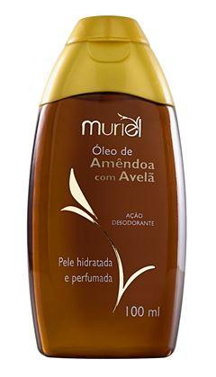 Oleo Corporal Muriel 100 Oleo de Amendoa com Avelã