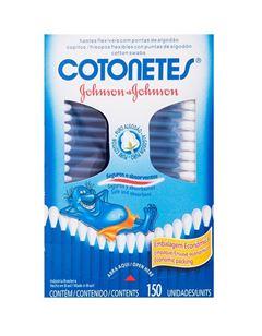 Hastes Flexiveis Cotonetes Johnson & Johnson 150 Unidades