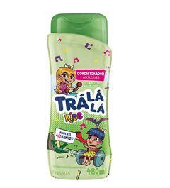 Condicionador Tra La La Kids 480 ml Antifrizz