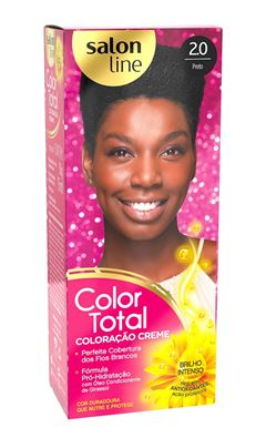 Coloracão Salon Line Color Total Preto 2.0