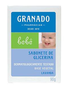 Sabonete Barra Granado Bebê 90 gr Lavanda