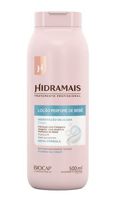 Loção Hidratante Hidramais 500 ml Perfume de Bebê