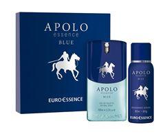 Kit Euro Essence Masculino Apolo Blue