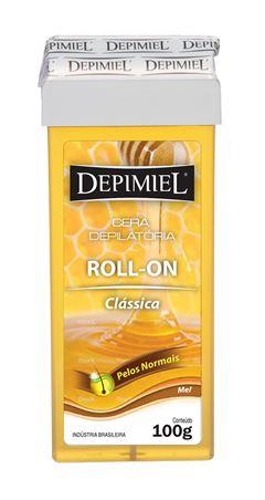 Cera Refil Roll On Depimiel 100 gr Classica