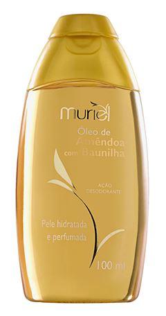 Oleo Corporal Muriel 100 ml Oleo de Amendoa com Baunilha