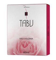 Deo Colônia Tabu 60 ml Tradicional