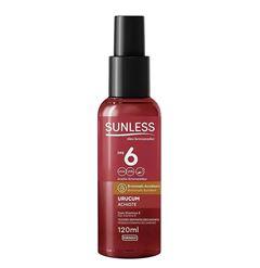 Oleo Bronzeador Sunless FPS 6 Urucum 120ml