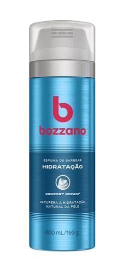 Espuma de Barbear Bozzano 200 ml Hidratação