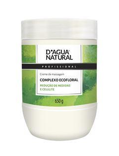 Creme de Massagem D Agua Natural 650 gr Complexo Ecofloral