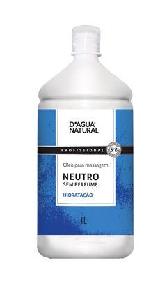 Óleo para Massagem D Agua Natural 1 Litro Neutro