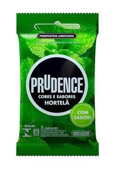 Preservativo Prudence Cores e Sabores Hotelã 3 unidades
