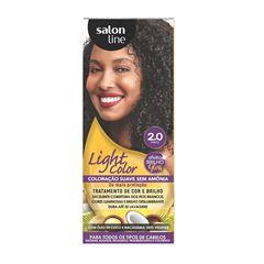 Tonalizante Salon Line Light Color Preto 2.0