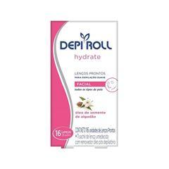 Lencos Prontos Facial Depi Roll 16 unidades Hydrate