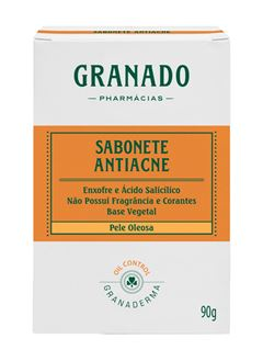 Sabonete Antiacne Granado 90 gr Pele Oleosa