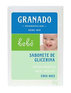 Sabonete Barra Granado Bebê 90 gr Erva Doce
