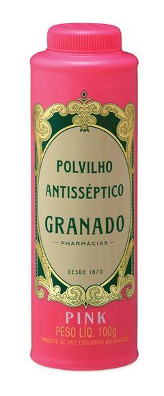 Polvilho Antisseptico Granado 100 gr Pink