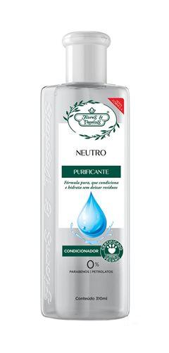 Condicionador Flores & Vegetais Neutro 300 ml Formula Pura