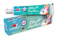 Gel Dental Condor Kids Lilica Ripilica 50 gr Tutti-Frutti