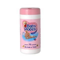 Lencos Umedecidos Baby Poppy 75 unidades Rosa