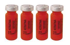 Ampola Dermabel 2,8 ml Keratina 4 unidades