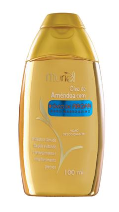 Oleo Corporal Muriel 100 ml Oleo de Amendoa com Oleo de Argan