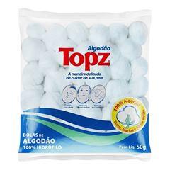 Algodão Topz Bolas 50 gr