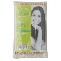 Palito de Unhas Katy 14cm Bambu 50 unidades