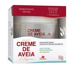 Hidratante Facial Davene Creme de Aveia 50 gr Hipoalergenico
