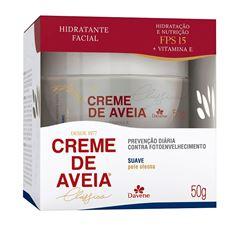 Hidratante Facial Davene Creme de Aveia 50 gr Suave
