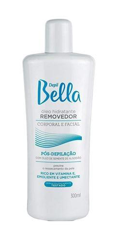 Oleo Removedor Depil Bella Corporal e Facial 300 ml Pos-Depilacão
