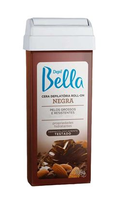 Cera Refil Roll On Depil Bella 100 gr Negra